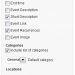 Submissions Widget